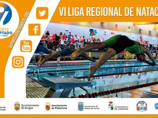 VI Liga Regional Natación Adaptada Castilla y León