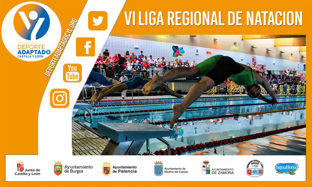 2ª jornada VI Liga Regional de Natación Adaptada