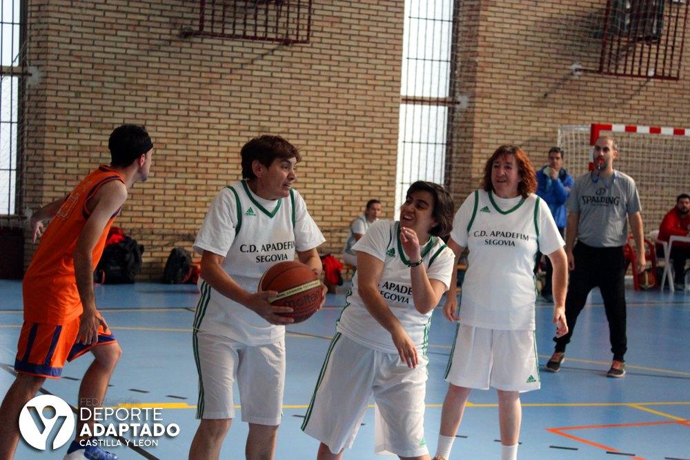 Equipo de baloncesto mixto del Apadefim 2019-2020. FEDEACYL