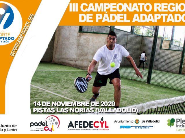 III Campeonato Regional de Pádel