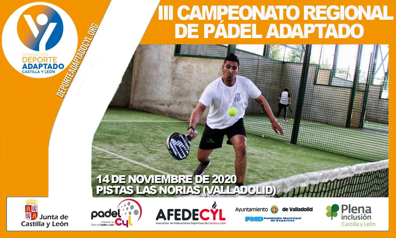 III Campeonato Regional de Pádel Adaptado