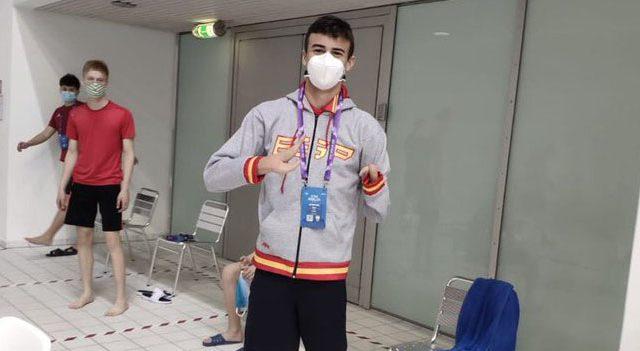 Luis Huerta acelera hacia Tokio