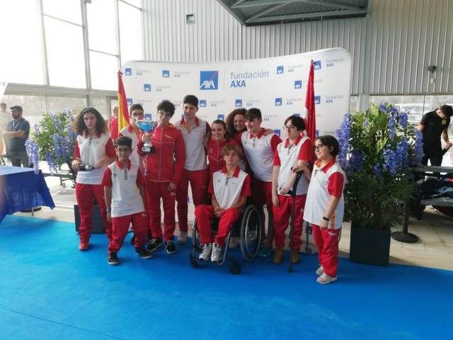 Expedición del CD Fusion y el CN Palencia en Oviedo. FEDEACYL