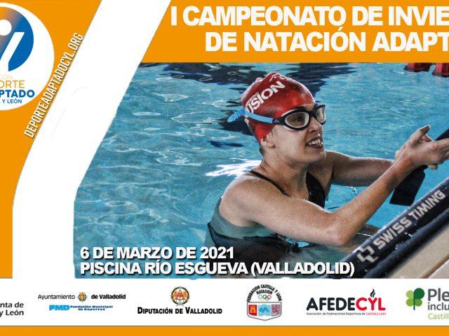 I Campeonato de Invierno de Natación Adaptada de Castilla y León