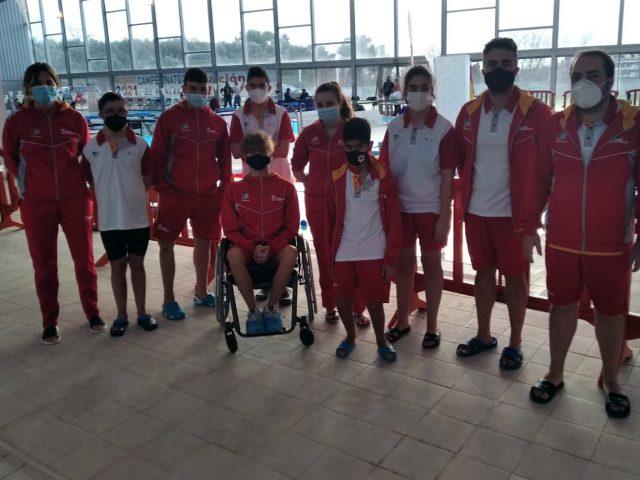 Castilla y León se acerca al podio en el Campeonato Axa de Natación