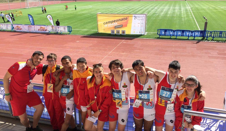 Selección de atletismo