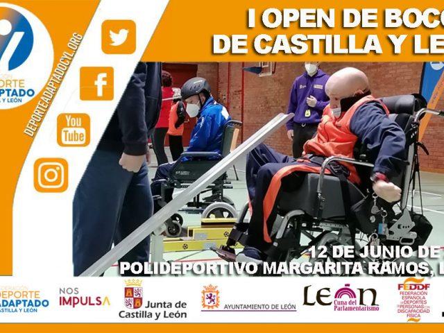 I Open de Boccia de Castilla y León