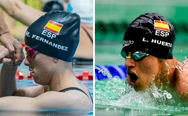 Marta y Luis, lluvia de medallas en el Europeo de Madeira