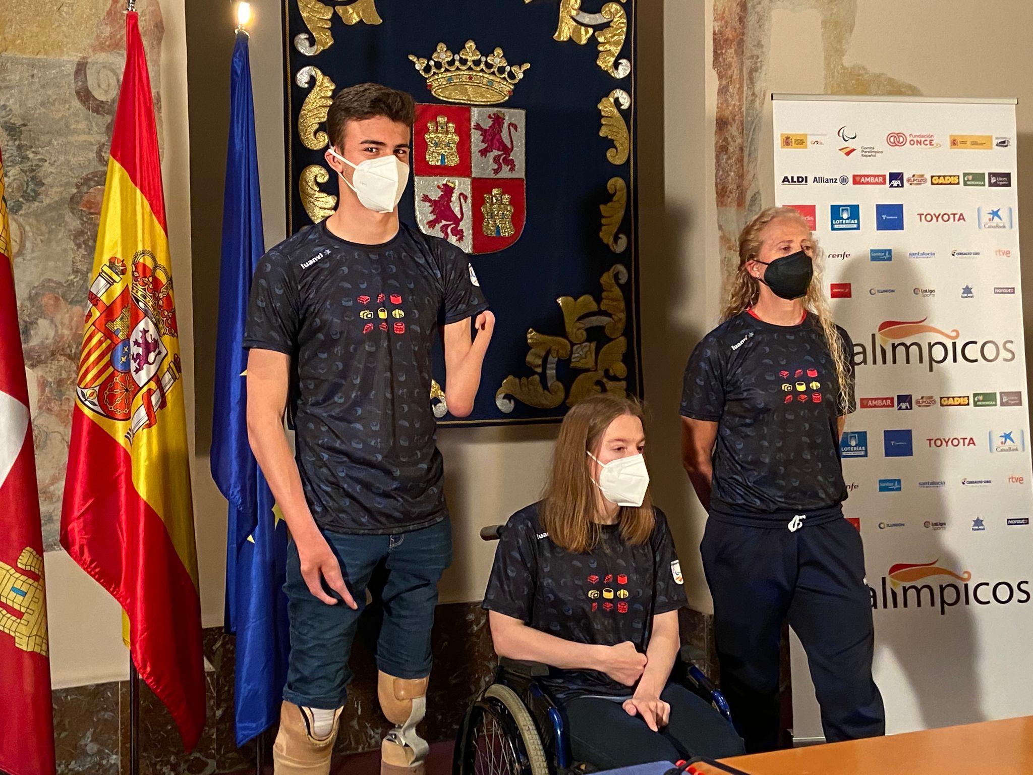 Presentación de los deportistas paralímpicos preseleccionados para Tokio de Castilla y León. FEDEACYL