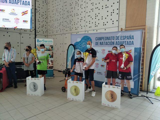 El CD Fusion alcanza el bronce en el Campeonato de España de Natación Adaptada