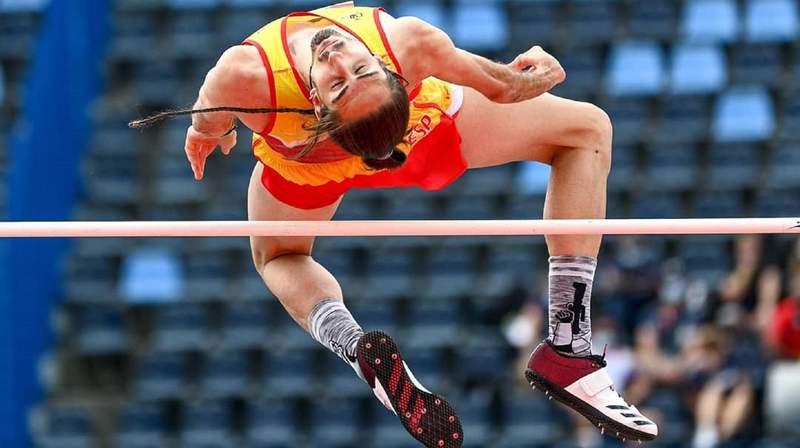 Dani Pérez, en el Mundial de Atletismo Paralímpico. FEDEACYL