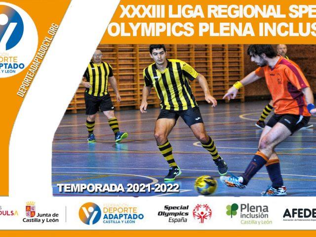 XXXIII Liga Special Olympics Plena Inclusión Castilla y León